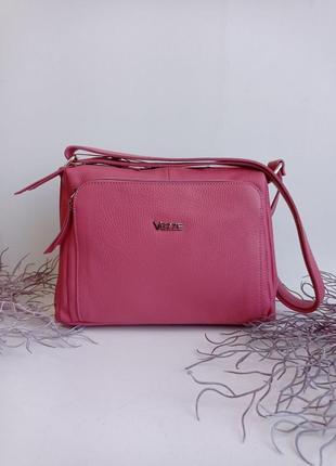 Сумка кожаная на длинном ремешке через плечо пр-во италия, genuine leather сумка жіноча шкіряна