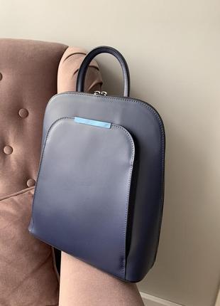 Итальянский рюкзак из натуральной гладкой кожи