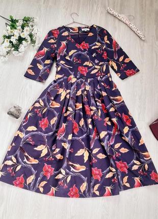 Платье шикарное птицы 💜💜💜 сукня чудова
