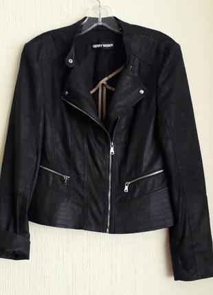 Брендовая женская куртка немецкой марки gerry weber, оригинал, новая,сток