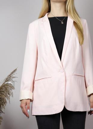 Розовый блейзер от new look