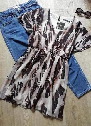 Лёгкое шифоновое платье свободного кроя, сукня, платья, плаття, сарафан, платье летучья мышь