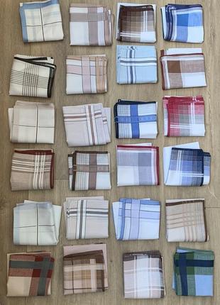 Носовые платки новые 40х40 см