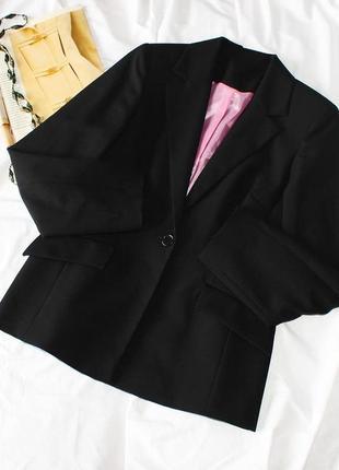 Черный пиджак nl collection піджак
