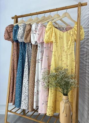 Очаровательные легкие платья