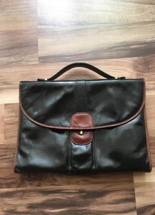 Сумка винтажная,мини портфель
