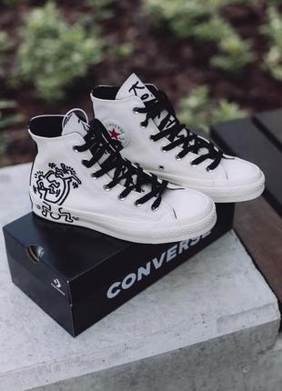 Converse chuck taylor all-star 70 hi keith haring шикарные женские кеды конверс высокие
