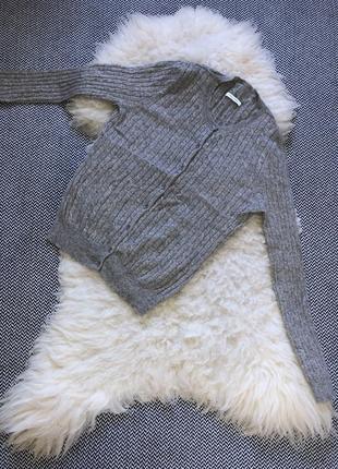 Кашемировый antoni & alison шерстяной свитер кардиган пуговицы косы кашемир