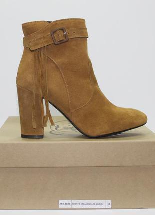 Ботинки fiore оригинал натуральная замша 39-40