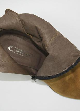 Ботинки fiore оригинал натуральная замша 39-404