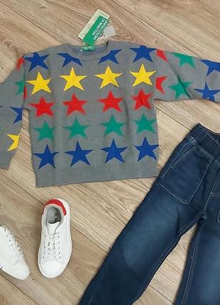 Яркий свитер для мальчика benetton