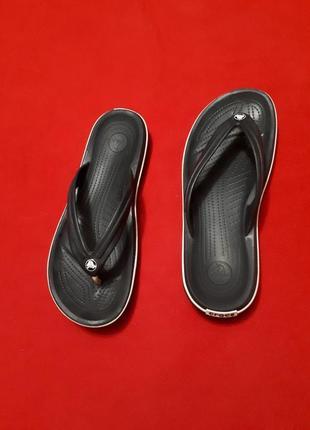 Crocs crocband flip крокс крокбанд вьетнамки р 42-43