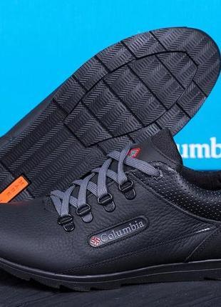 Мужские кроссовки из натуральной кожи columbia(40-45р)