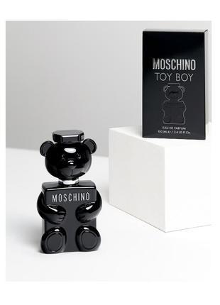 Moschino toy boy парфюмированная вода парфюм оригинал черный мишка 100 мл 30 мл остаток распив