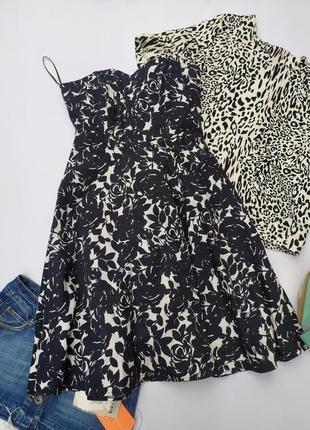 Очень красивое натуральное платье миди длинное котон натуральная ткань бьюстье