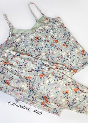 Пижама новая комплект для дома love to lounge в цветочный принт