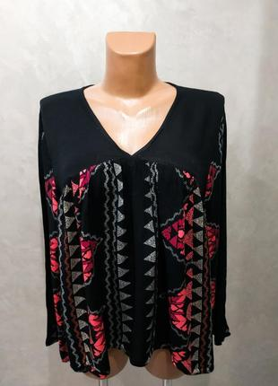 452. блузка свободного кроя от vero moda, оригинал р.l
