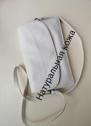 Кожаная сумка tula натуральной кожи