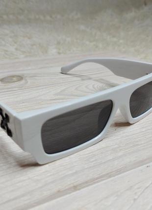 Солнцезащитные очки белые off white