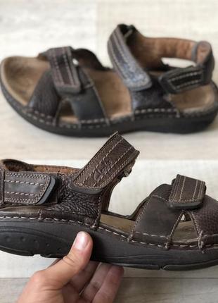 Clarks active air шкіряні ортопедичні босоніжки сандалі оригінал