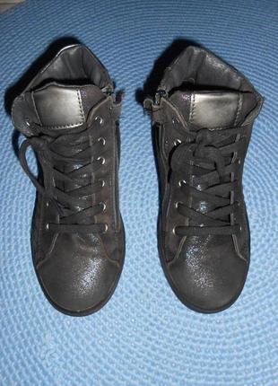 Деми ботинки, кожа, италия, 34