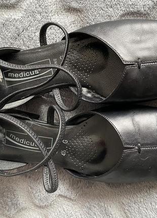 Medicus 💫туфлі шкіряні//туфли в стиле шанель