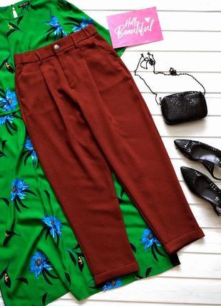 Терракотовые брюки бананы