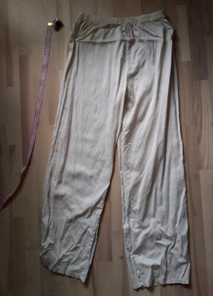 Штани в піжамному стилі, натуральний шовк, шелк
