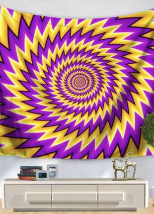 Картина-гобелен оптическая иллюзия