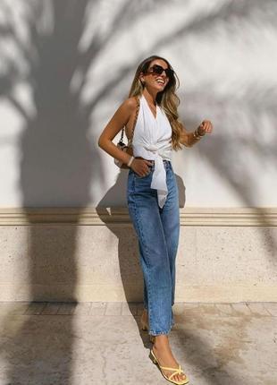 Zara new мом джинсы 40, 44 европейский