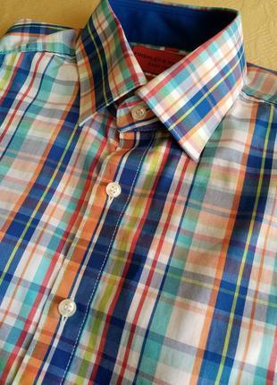 Летняя мужская рубашка чоловіча літня сорочка