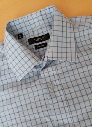 Сорочка чоловіча рубашка мужская в клеточку