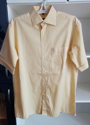 Летняя мужская рубашка сорочка чоловіча літня
