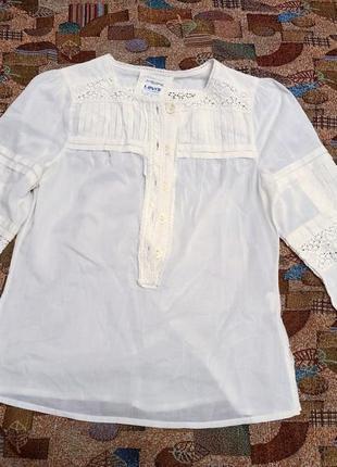Красивая рубашка вышиванка из хлопка.