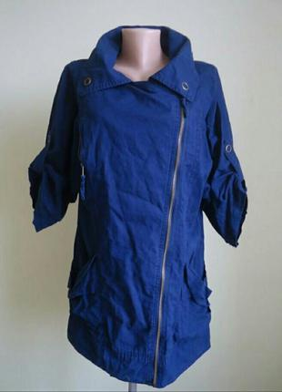 Куртка пиджак f&f лен
