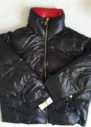 Куртка пуховая ультра лайт michael kors l