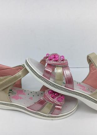 Красивые босоножки, сандалии девочка, сандали с 27 по 32р. 17,7см-21см