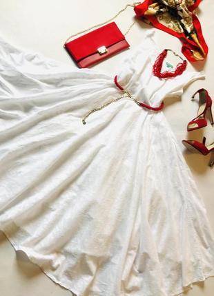 Шикарное белое платье бренда giacomo cinque .италия🇮🇹