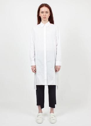 Женская оригинальная рубашка платье acne studios rosamund pique ss16 40