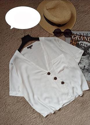 Красивая блузка на пуговицах кофточка рубашка