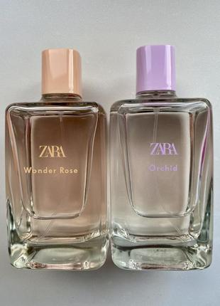Zara wonder rose та orchid 200 мл. оригінал іспанія