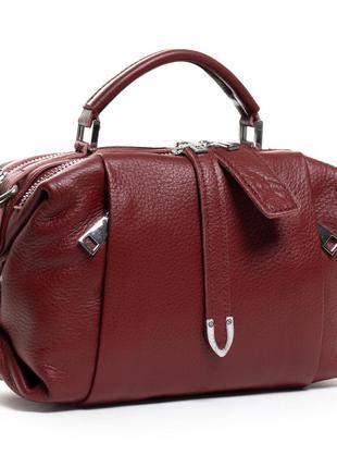 Женская кожаная сумка из натуральной кожи жіноча шкіряна на плечо