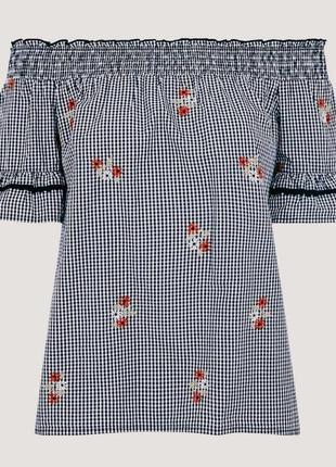 Стан нової!шикарна натуральна сорочка чи блузочка в українському стилі,вказано р.14.