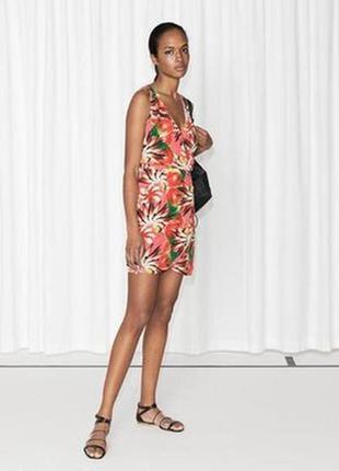 Яркое летнее платье & other stories пляжное платье zara h&m