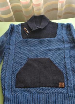 Свитер, пуловер для мальчика svtr.р.122-130