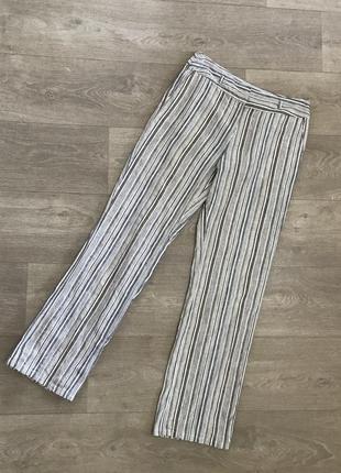 🍀 льняные брюки лён la redoute