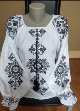 Вишита сорочка, вишиванка, блузка, стиль бохо