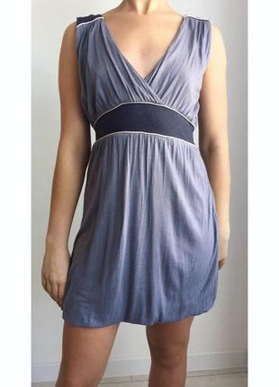 Платье, пляття, сукня, летнее, повседневное, сіра сукня.