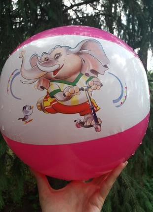 Мяч резиновый надувной слоник