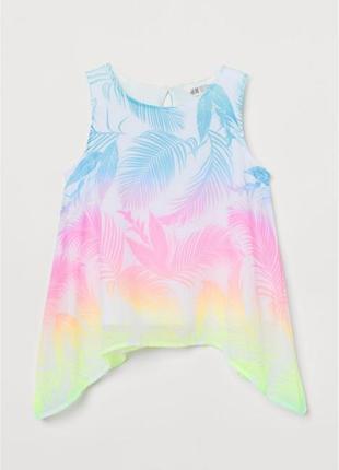 Шикарные майки блузы h&m девочкам